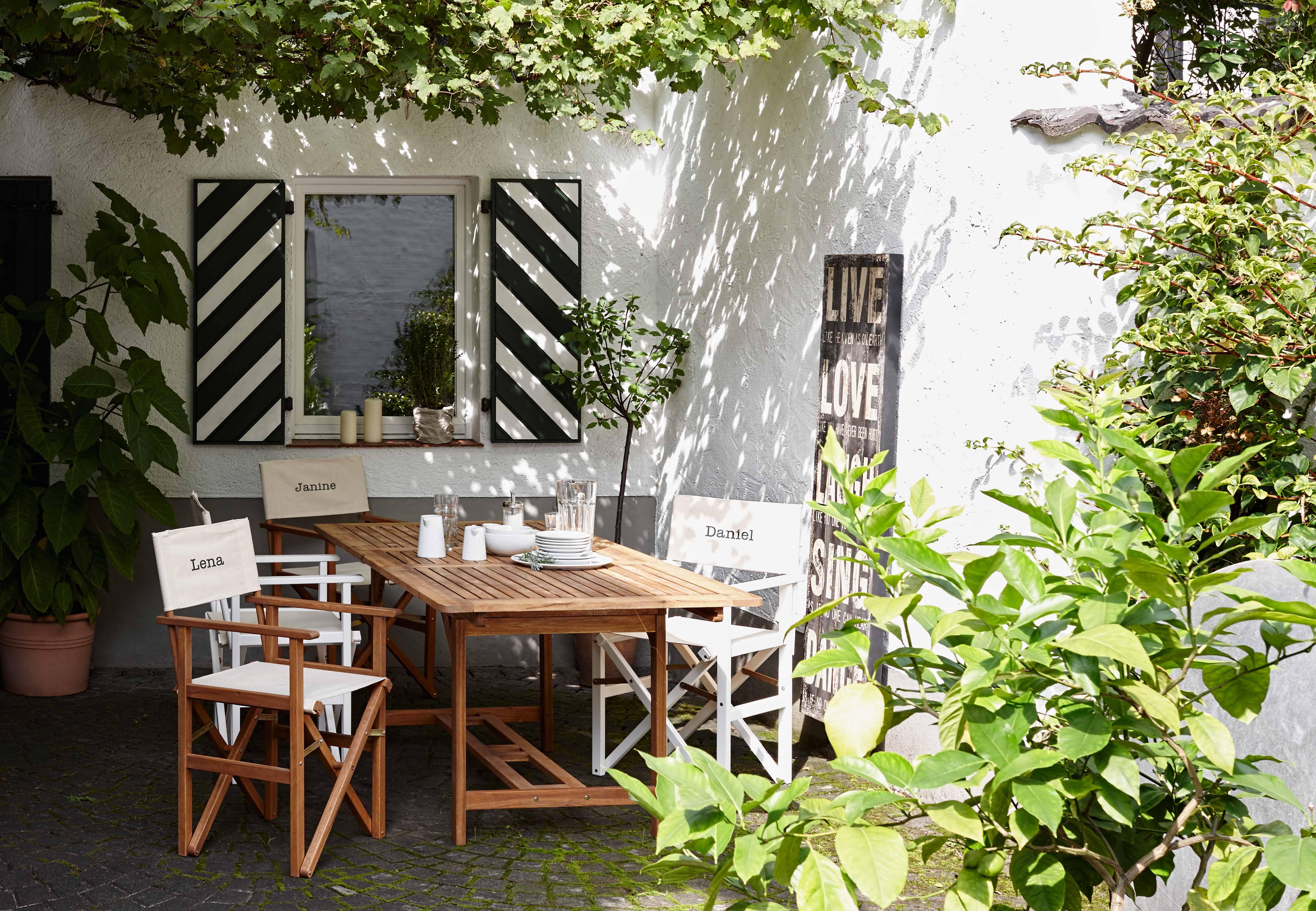 Wunderbar Butlers Gartenmöbel Fotos - Die Schlafzimmerideen ...