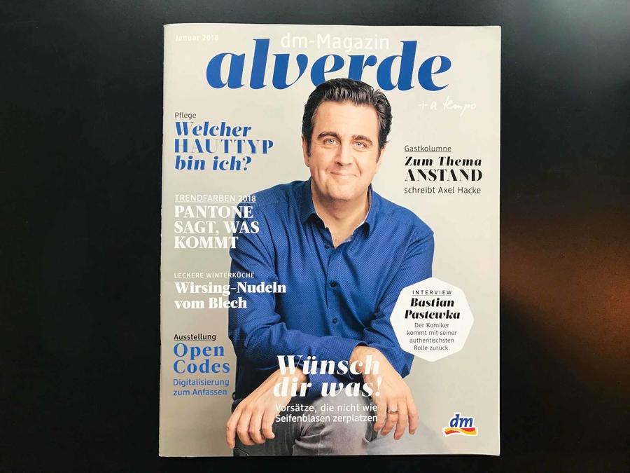 Bastian Pastewka // alverde Magazin