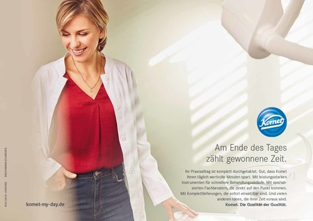 Komet Dental Add Campaign