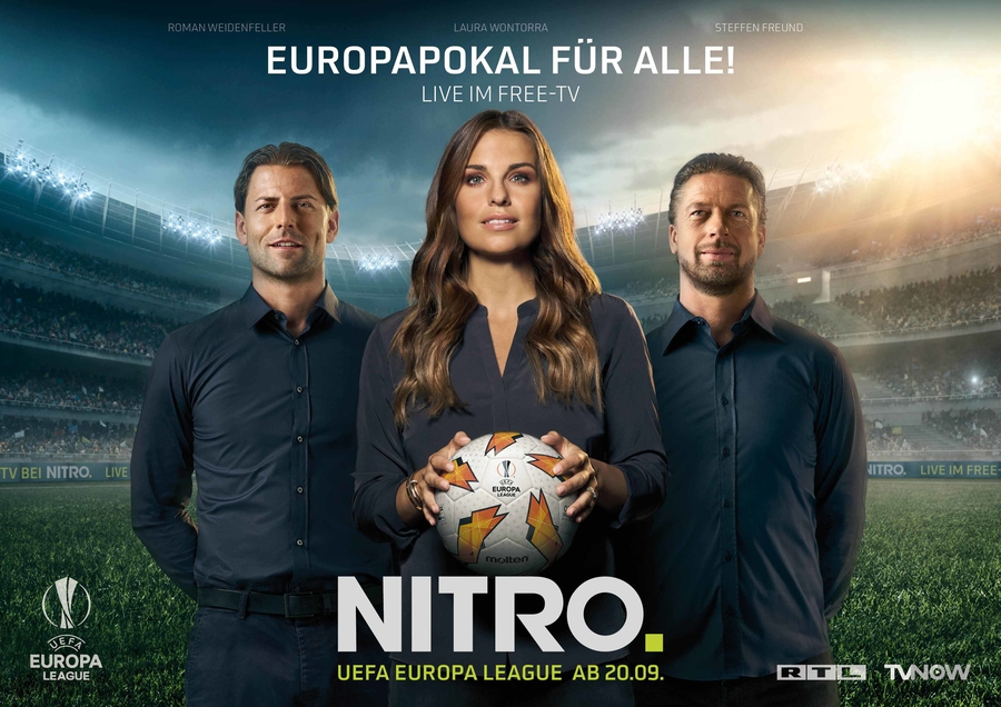 Laura Wontorra for RTL NITRO