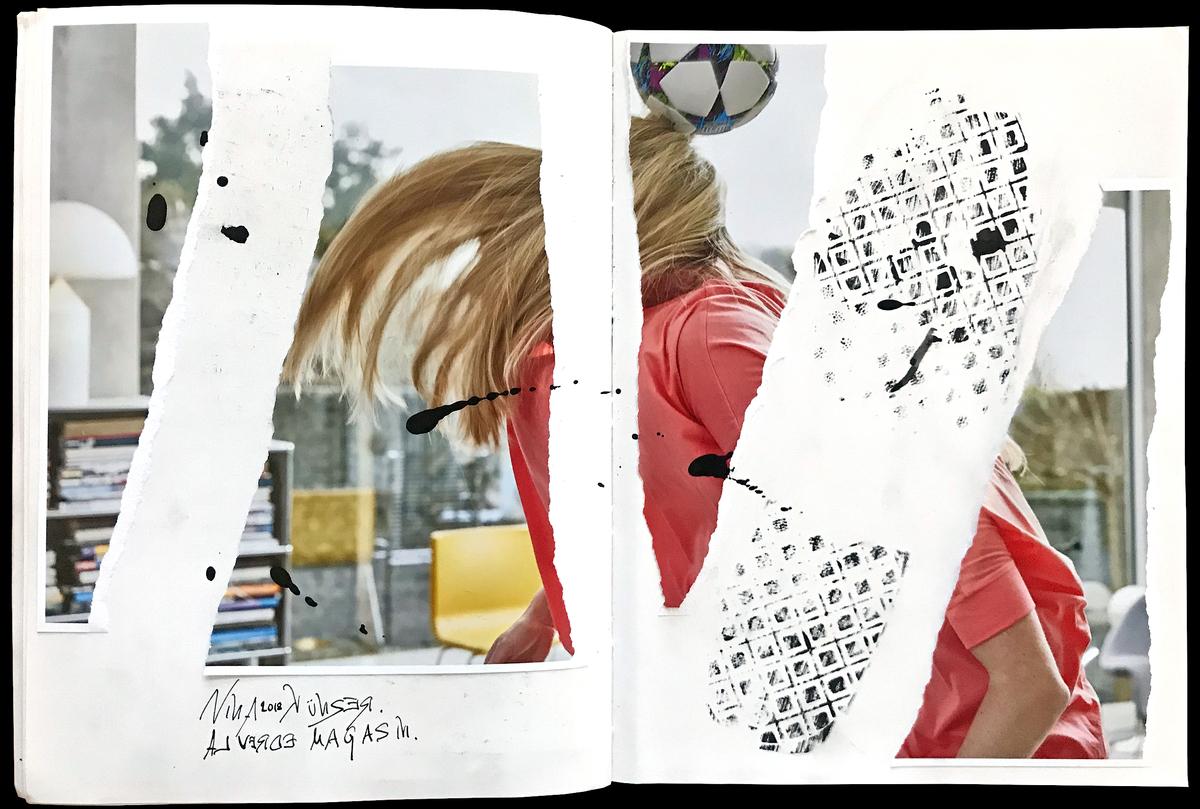 alverde magazin / Nia Künzer
