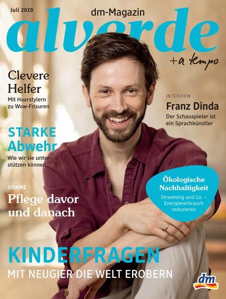 Franz Dinda // dm-Magazin alverde