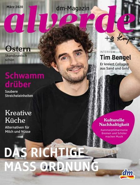 Tim Bengel // dm Magazin alverde